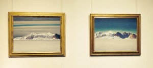 "Left: ""Blue Day,"" Right: ""Grey Day,"" Rockwell Kent"